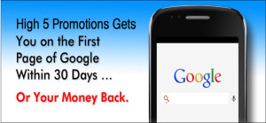 Google-Guarantee-High-5-Promotions Marketing Consultant